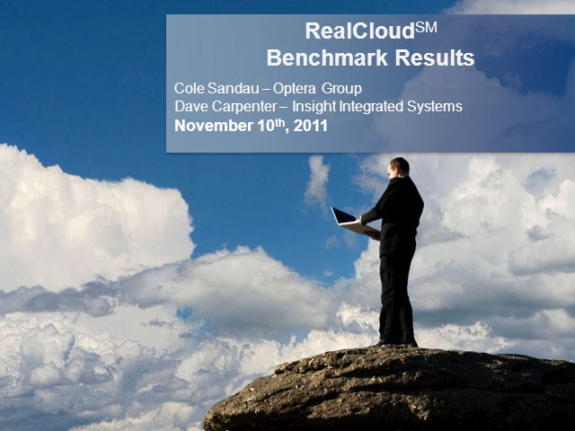 RealCloud Ready Assessment Survey Benchmarking Results