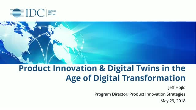 Product Innovation & Digital Twins in the Age of Digital Transformation