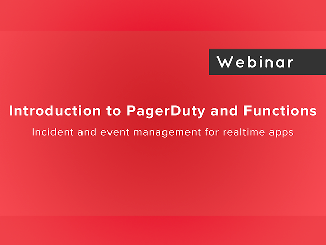 Introduction to PagerDuty and Functions
