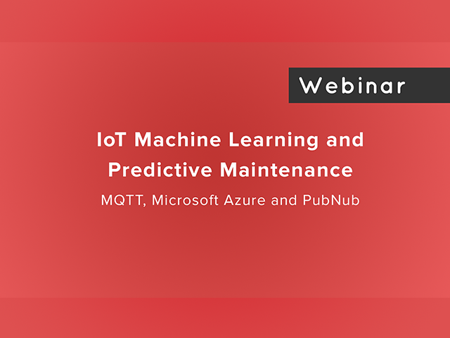 IoT Machine Learning and Predictive Maintenance