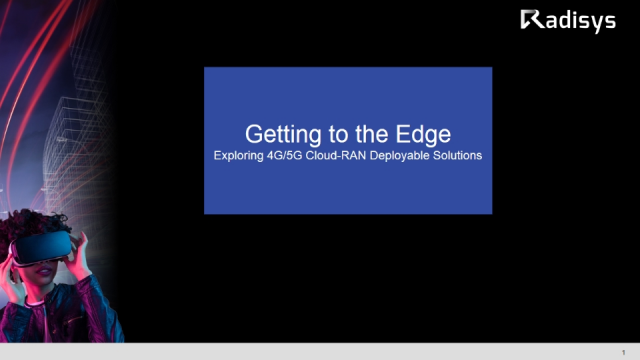 Getting to the Edge – Exploring 4G/5G Cloud-RAN Deployable Solutions