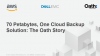 70 Petabytes, One Cloud Backup Solution: The Oath Story