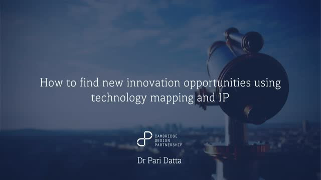 How to find new innovation opportunities using technology mapping and IP data