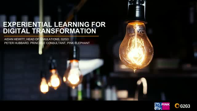 Experiential Learning for Digital Transformation