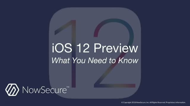 iOS 12 Preview - What You Need To Know