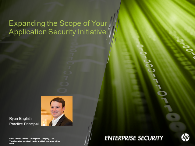 Expanding the Scope of Your Application Security Initiative