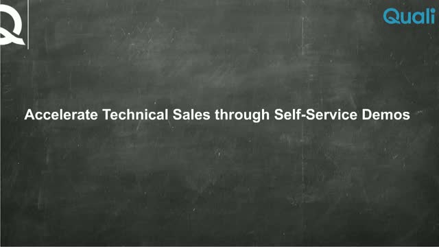 Webinar: Accelerate Technical Sales through Self-Service Demos