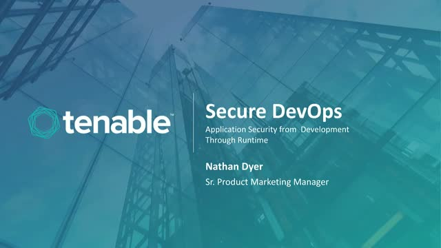 Secure DevOps: Application Security from Development Through Runtime