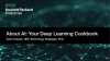 About AI. Your Deep Learning Cookbook.