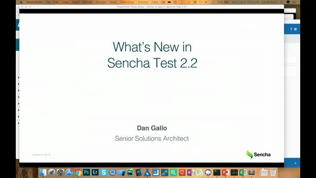 SNC - What's New in Sencha Test 2.2