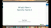 What's New in Sencha Test 2.2
