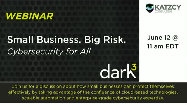 Small Business/Big Risk: Cybersecurity for All!