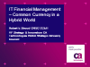 IT Financial Management – Common Currency in a Hybrid World