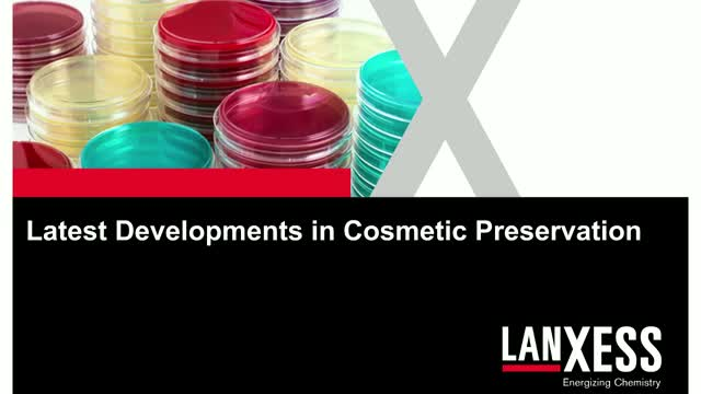 Latest developments in cosmetic preservation