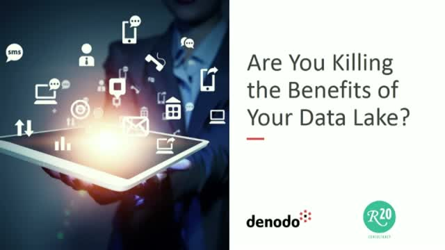 Are you killing the benefits of your data lake? (North America)