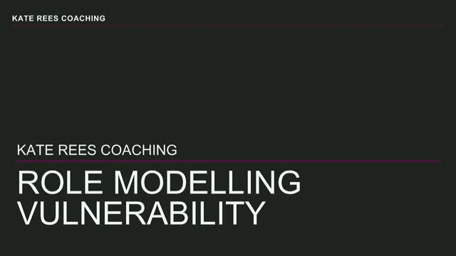 Role modelling vulnerability