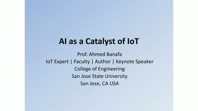 AI is the Catalyst of IoT