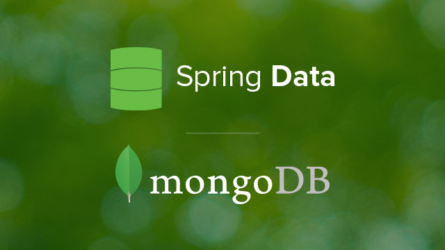 Next-Generation Spring Data and MongoDB