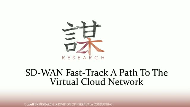 SD-WAN – The Lynchpin in a Transforming Virtual Cloud Network