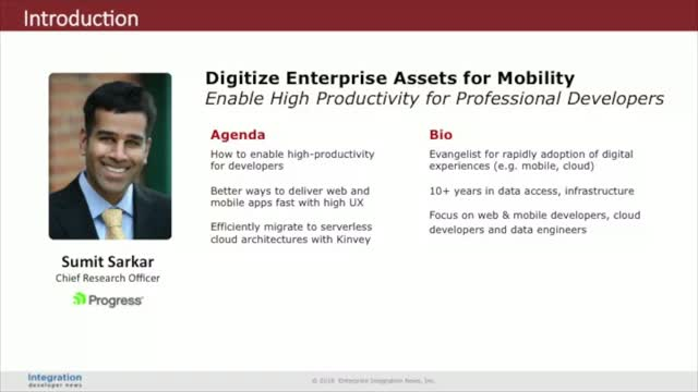 Digitize Enterprise Assets for Mobility
