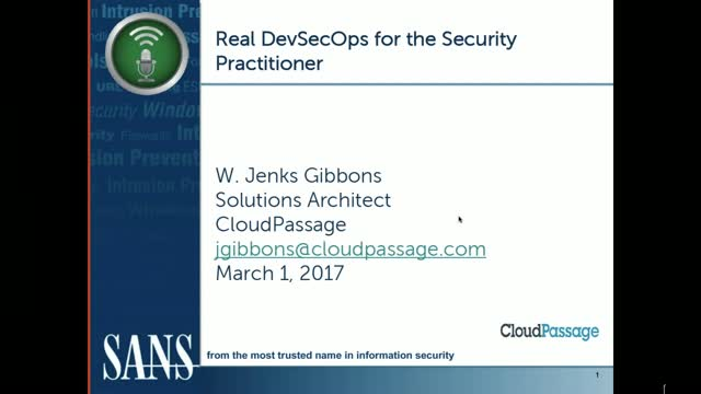 Real DevSecOps for the Security Practitioner