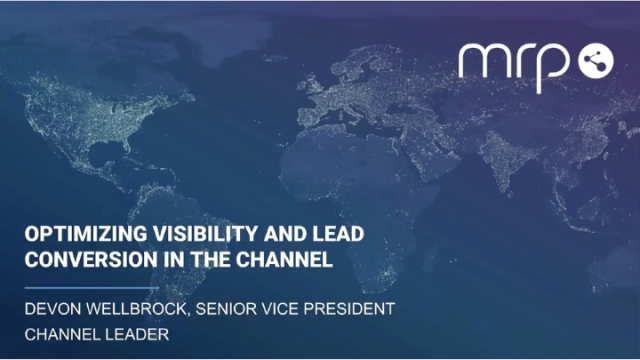 Optimizing Visibility and Lead Conversion in the Channel