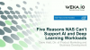 WekaIO: 5 Reasons Why NAS Can't Support Deep Learning Workloads