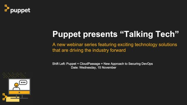 Puppet + CloudPassage = New Approach to Securing DevOps