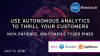 Use Autonomous Analytics to Thrill Your Customers
