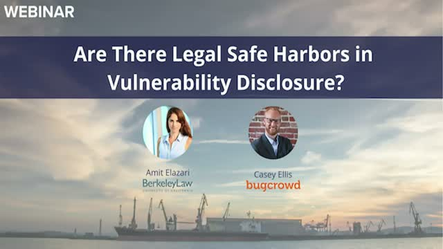 Are there Legal Safe Harbors in Vulnerability Disclosure?