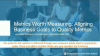 Software Metrics Worth Measuring: Aligning Business Goals to Quality Metrics