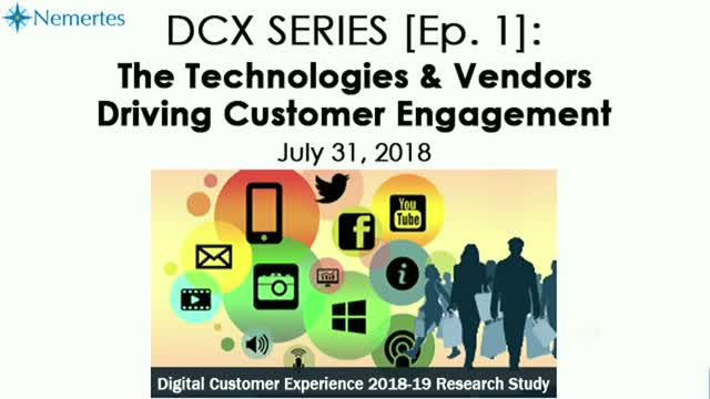 DCX Series [Ep.1]: The Technologies & Vendors Driving Customer Engagement
