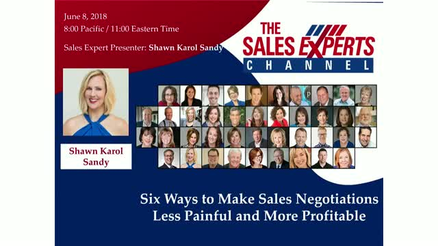 Six Ways to Make Sales Negotiations Less Painful and More Profitable
