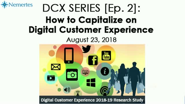 DCX Series [Ep. 2]: How to Capitalize on Digital Customer Experience