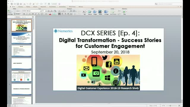 DCX [Ep.4]: Digital Transformation - Success Stories for Customer Engagement