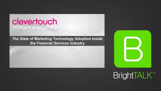 State of Marketing Technology Adoption Inside the Financial Services Industry