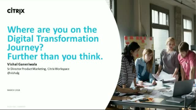 Where are you on the Digital Transformation Journey? Further than you think