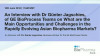 An Interview withDr Günter Jagschies, of GE BioProcess teams