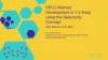 HPLC Method Development in One and a Half Days Using the Selectivity Concept