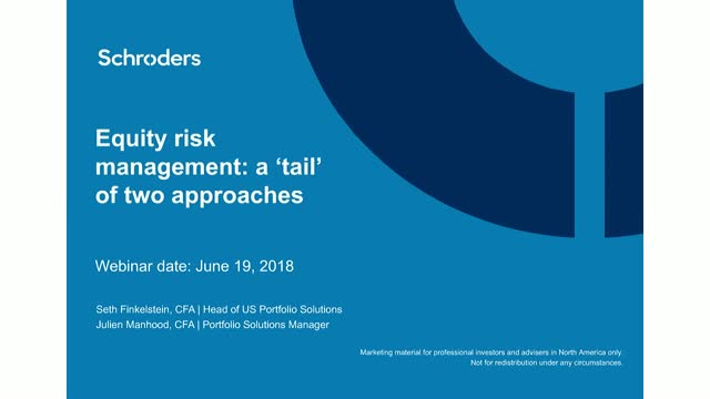Equity risk management: a 'tail' of two approaches