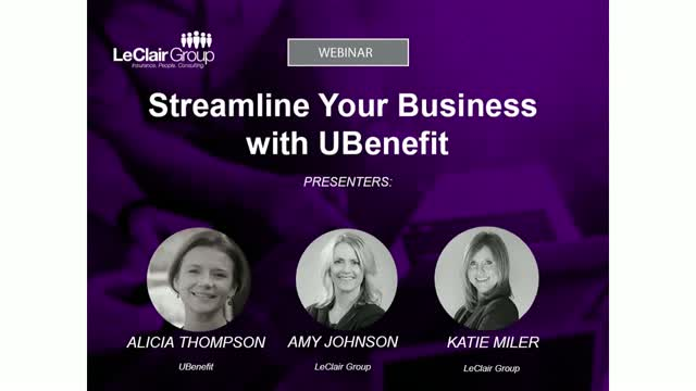 Streamline Your Business with UBenefit