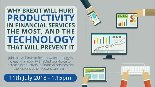 Why Brexit will hurt productivity in Financial Services the most...