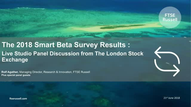 2018 Institutional Smart Beta Survey Results - Studio Panel Analysis