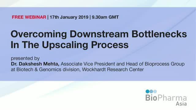 Overcoming Downstream Bottlenecks In The Upscaling Process
