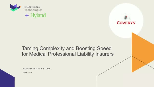 Taming Complexity and Boosting Speed for Medical Professional Liability Insurers