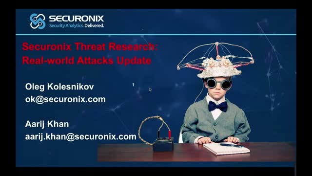 Security Threat Research: New Real-World Attacks Update