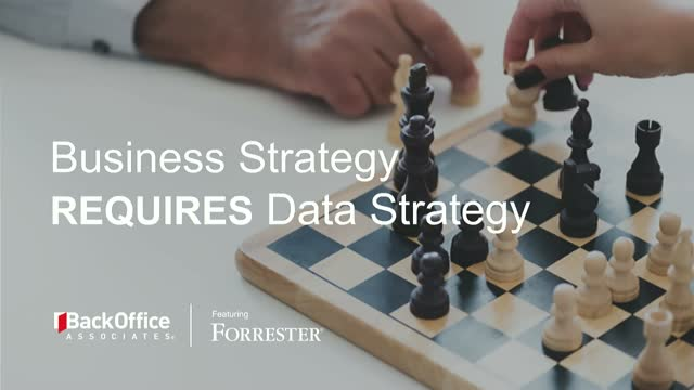 Business Strategy requires Data Strategy