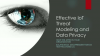 Effective IoT Threat Modeling and Data Privacy