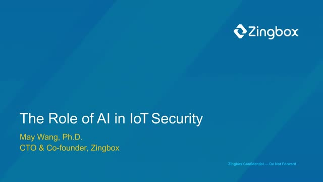 The Role of AI in IoT Security