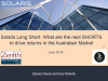 What are the next funding shorts to drive returns in the Australian market